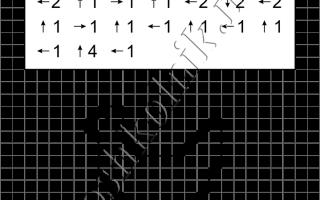 Графический диктант Курица: рисунок по клеточкам для дошкольников
