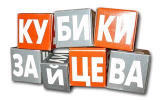 Увлекательные кубики Зайцева. Учимся читать играючи.