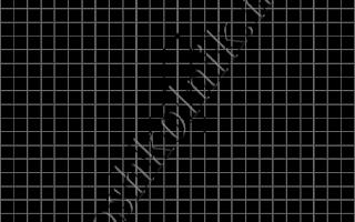 Графический диктант Ракета: рисунок по клеточкам для дошкольников