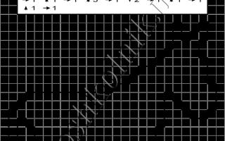 Графический диктант Вежливый Ослик: рисунок по клеточкам для дошкольников