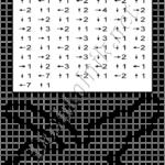 Графический диктант Птица: рисунок по клеточкам для дошкольников