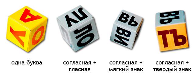 Склады на кубиках Зайцева